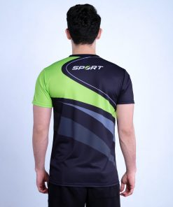 Sublimated Round Neck T-Shirt