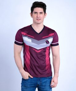Sublimated V-Neck T-Shirt