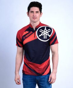 Chinese Collar Polo Shirt for Men