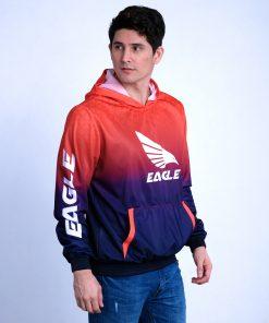 Sublimated Hoodie Sweatshirt Jacket for Men