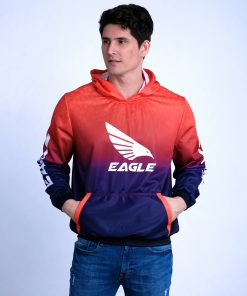 Sublimated Hoodie Sweatshirt Jacket for Men