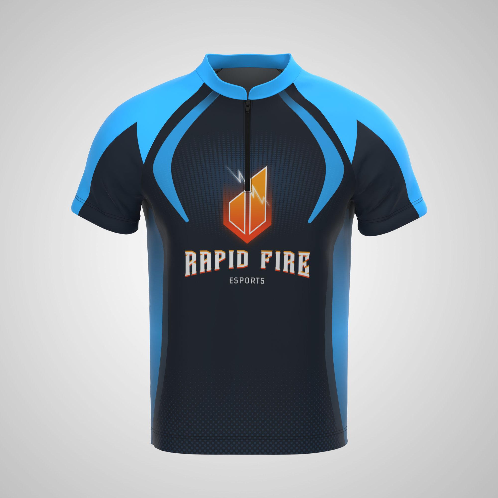 Esport Jersey - Mandarin Collar with Zipper